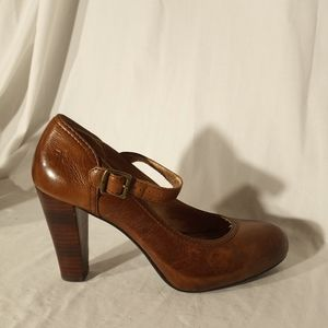 "FRYE Brown ""Miranda Ankle"" Mary Janes"